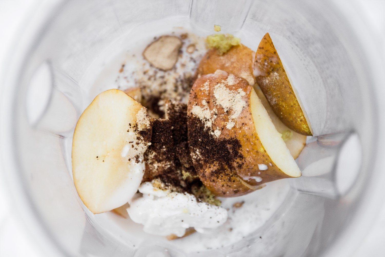 Pear Smoothie With Tapioca