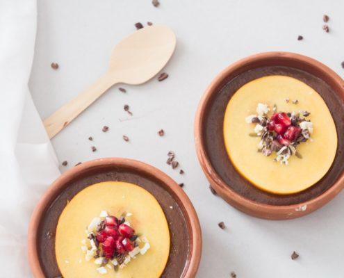 Vegan Coffee Pudding