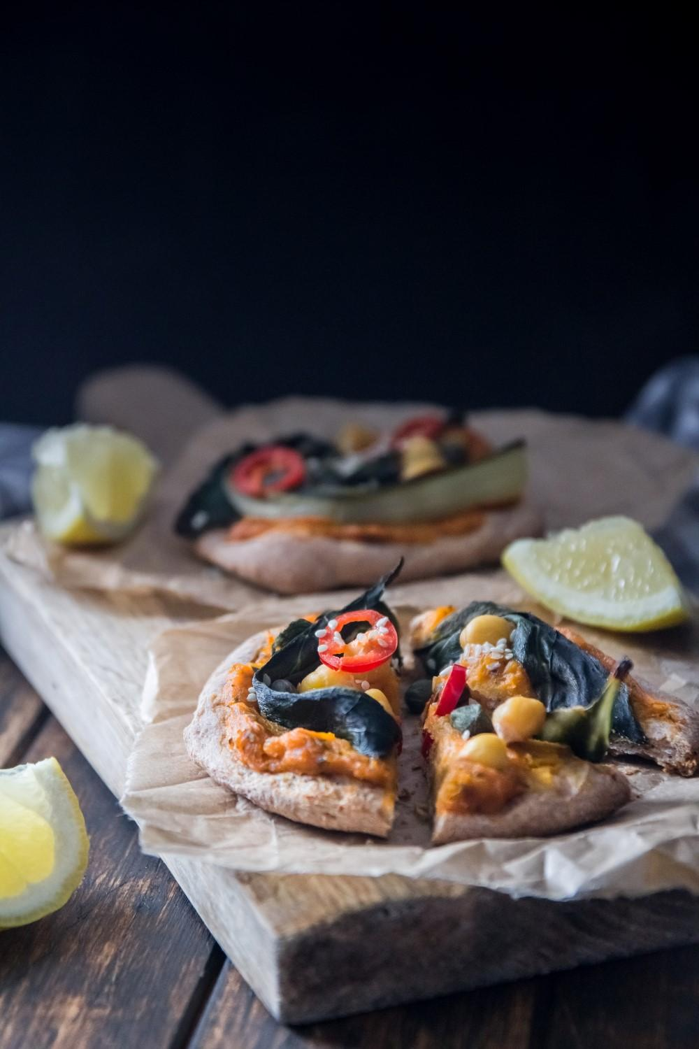 Mini Pumpkin Pizzas