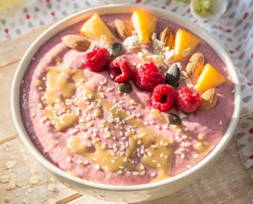 Morning Raspberry Oats