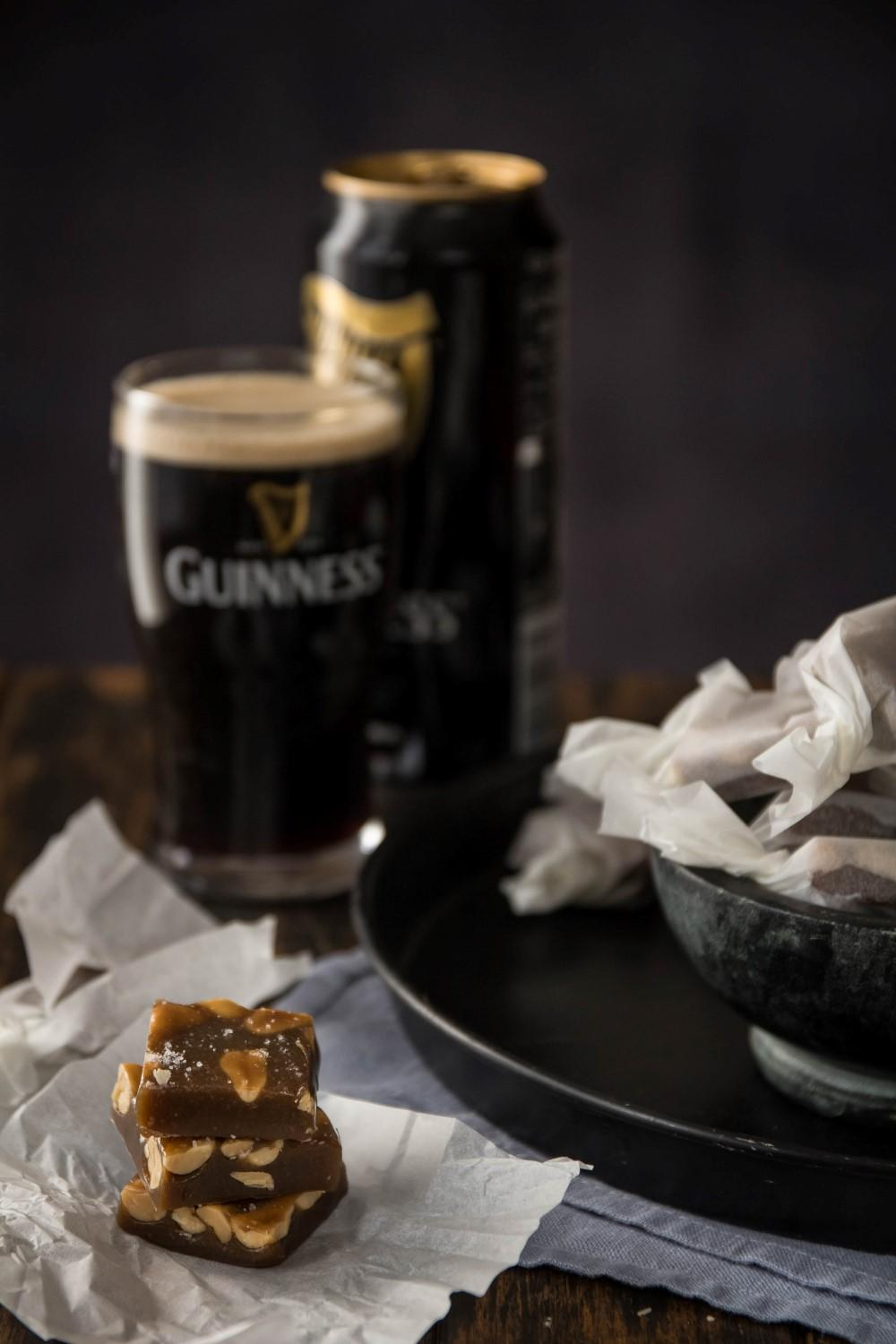 Use Your Noodles - Guinness Caramels With Salted Peanuts