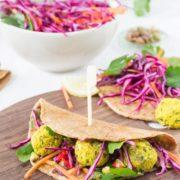 Use Your Noodles - Turmeric Falafel Wraps + Wholegrain Spelt Tortillas