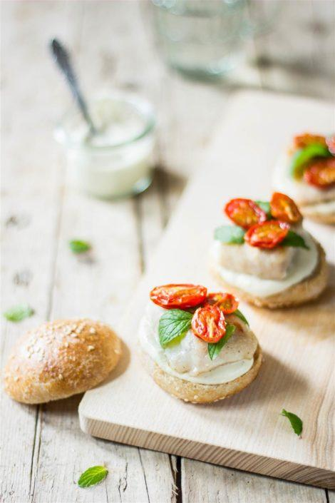 Humble fish sliders with a little twist are the best way to treat your family!