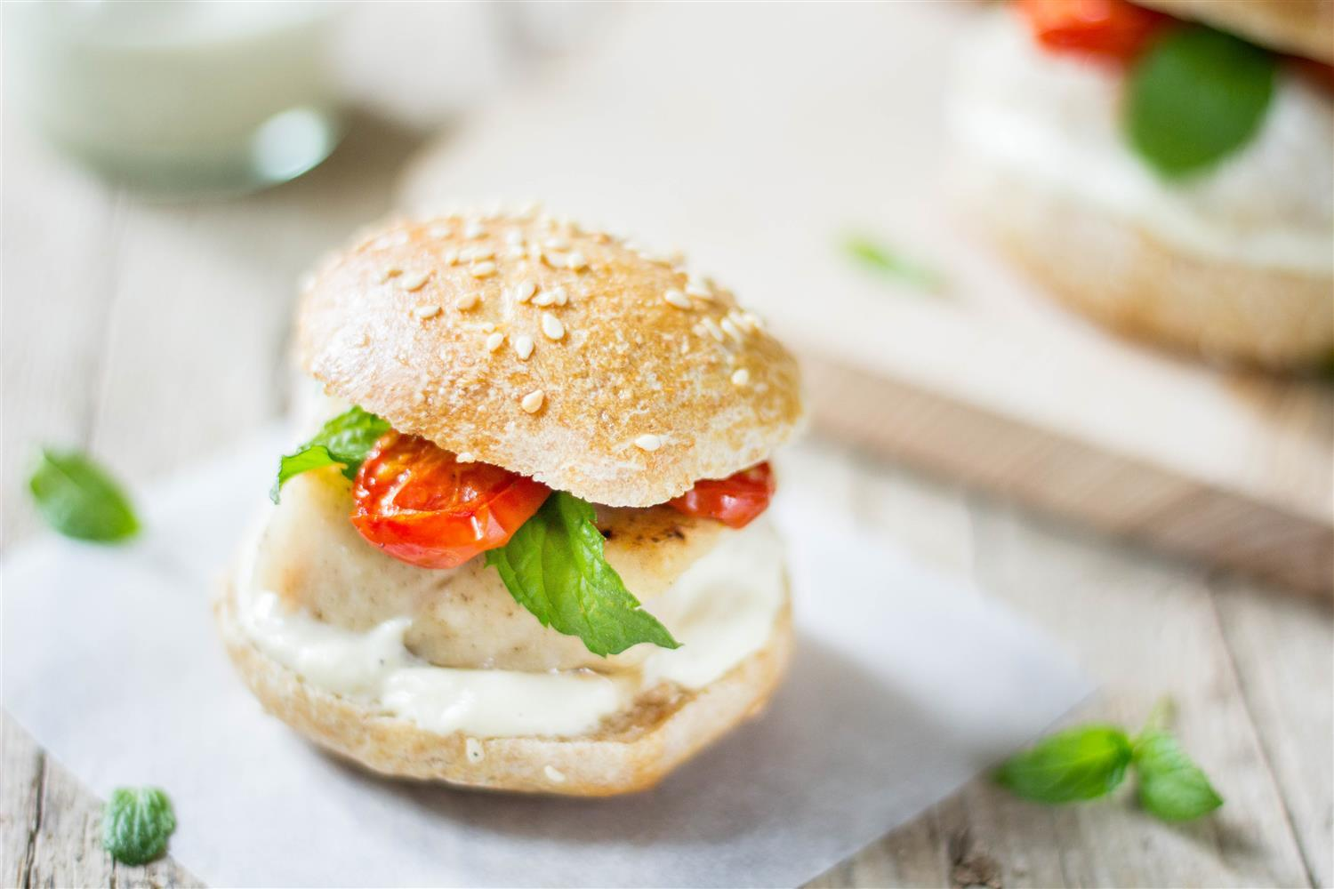 Use Your Noodles - Simple Fish Sliders with Roasted Garlic