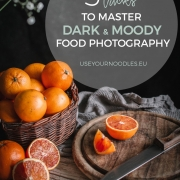 These five easy tips and tricks will help you get better at dark and moody food photography and create jaw-dropping still life moody shots.