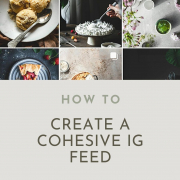 With this easy tutorial on how to create a cohesive Instagram feed you'll be able to create a beautiful eyecatching IG feed!