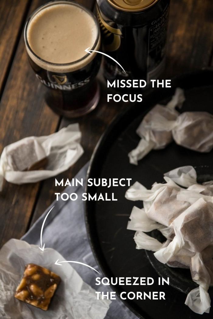 O erro número um que fotógrafos de comida novatos cometem