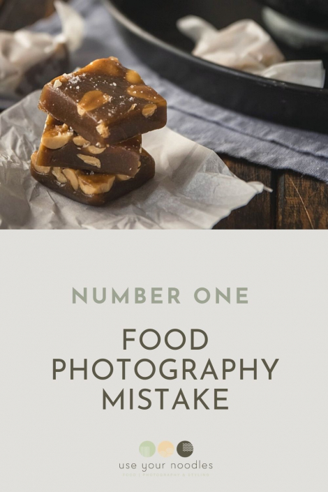 Number One Mistake Newbie Food Photographers Make