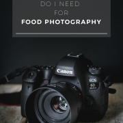 There is so much photography equipment out there but is all that necessary to create beautiful food photos. No, definitely not! Today, I'm sharing a few food photography equipment essentials, that I feel are necessary to produce great shots.