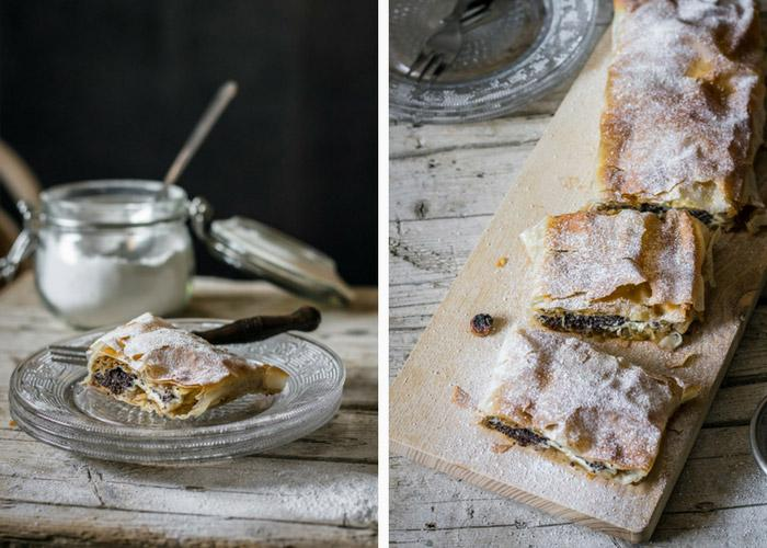 Nutty Apple & Poppy Seed Strudel