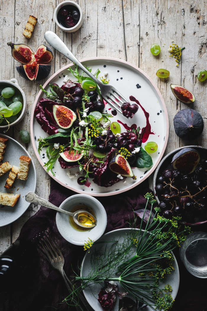 There's a trend in busy composition that you can see on Instagram. With these food photography tips you'll be able to know how to style the scene so your dish is still the hero.