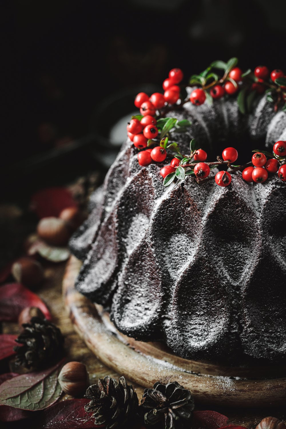 This simple but super rich chocolate hazelnut bundt cake recipe is guaranteed to impress at your Christmas dinner.