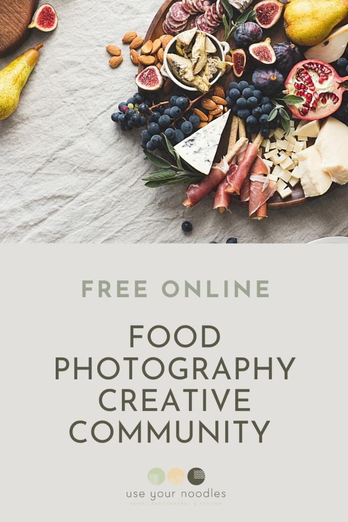 Free Online Food Photography Creative Community
