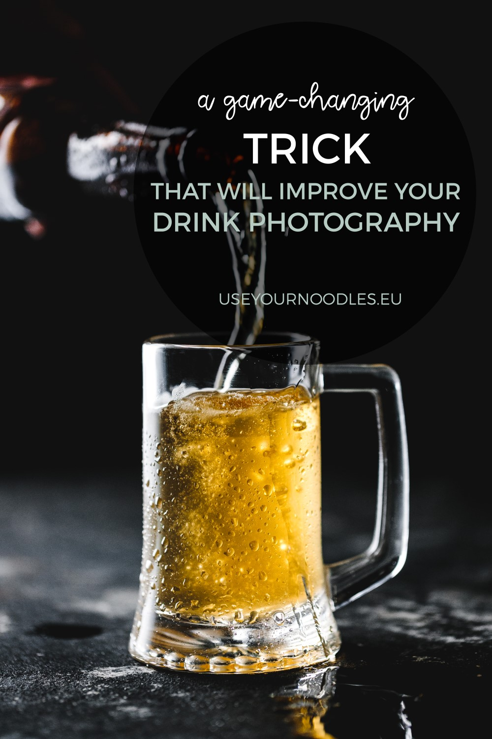 A game-changin trick for food and drink photography. Sometimes you need to shoot a perfect shoot and this trick really helps!