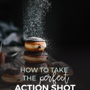 Are you just as in love with action shots in food photography as I am? Do you struggle with catching the right moment and have problems with perfect timing. You're in the right place!