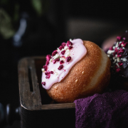 Once you've tasted these irresistibly soft and fluffy sourdough doughnuts, you'll never try any other! This one and a half day recipe is well worth the time it takes.