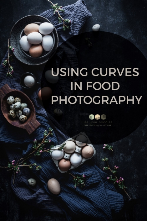 Using curves in food photography can add softness and natural feel to the photo. Here is a tutorial on how to use curves to create beautiful compositions.